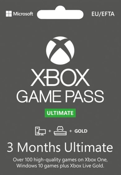 Xbox Game Pass Ultimate – 3 Month Subscription (Xbox One/ Windows 10) Xbox Live Key EUROPE