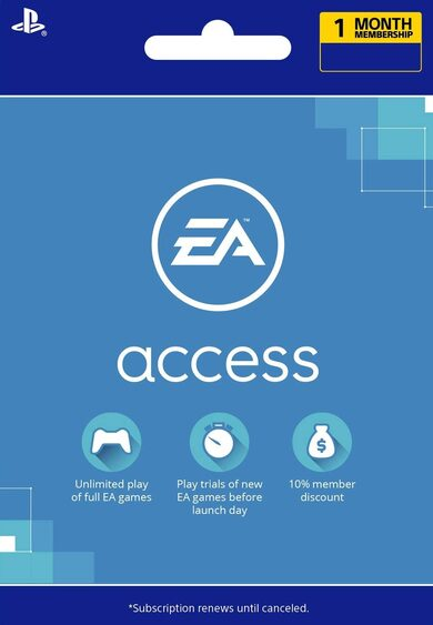 EA Access Pass Code 1 month (PS4) PSN Key UNITED STATES