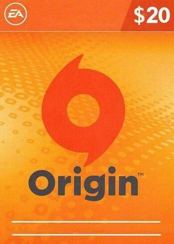 EA Origin Cash Card 20 USD Origin Key GLOBAL