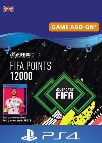 FIFA 20 - 12000 FUT Points (PS4) PSN Key UNITED KINGDOM