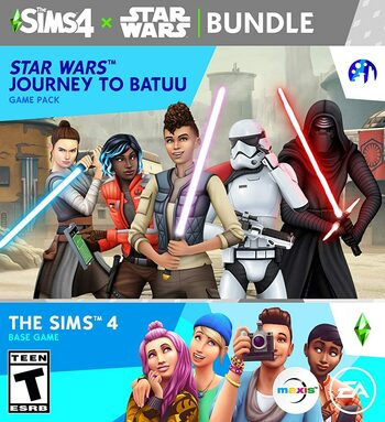 The Sims 4 + Star Wars: Journey to Batuu (DLC) Bundle Origin Key GLOBAL