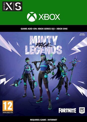Fortnite Minty Legends Pack + 1000 V-Bucks XBOX LIVE Key UNITED STATES