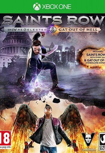 Saints Row IV: Re-Elected & Gat out of Hell (Xbox One) Xbox Live Key UNITED STATES