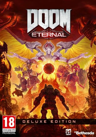 DOOM Eternal - Deluxe Bethesda.net Key GLOBAL