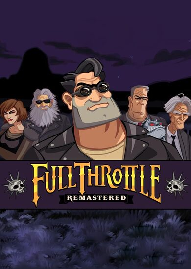 Full Throttle Remastered Steam Key GLOBAL