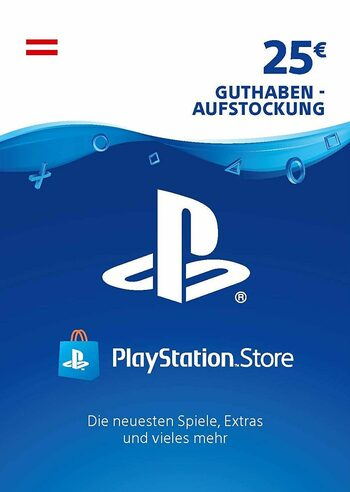 PlayStation Network Card 25 EUR (AT) PSN Key AUSTRIA