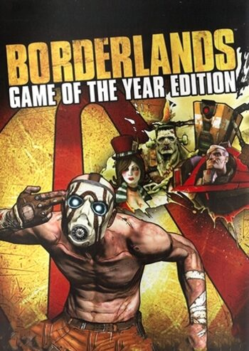 Borderlands (GOTY) Steam Clave GLOBAL