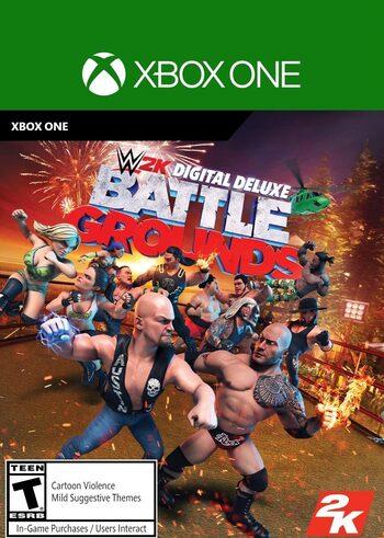 WWE 2K BATTLEGROUNDS Digital Deluxe Edition XBOX LIVE Key GLOBAL