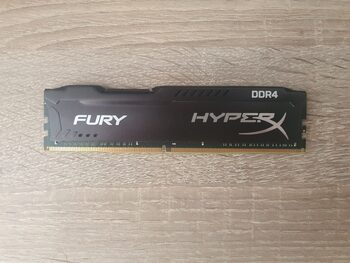 Kingston HyperX Fury 8 GB (1 x 8 GB) DDR4-2400 Black PC RAM