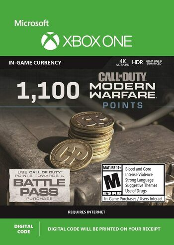 1100 Call of Duty: Modern Warfare Points (Xbox One) Xbox Live Key GLOBAL