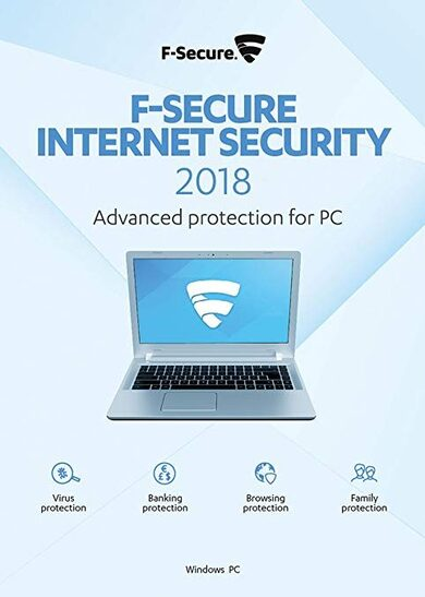 F-Secure Internet Security 2018 - 1 Device - 1 Year - Key EUROPE