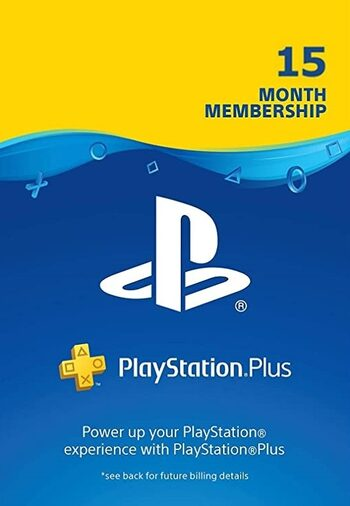 PlayStation Plus Card 15 Months (USA) PSN Key UNITED STATES