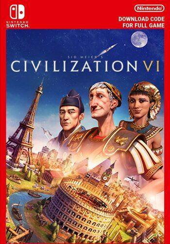 Sid Meier's Civilization VI (Nintendo Switch) eShop Código EUROPE