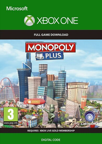 Monopoly Plus (Xbox One) Xbox Live Key GLOBAL