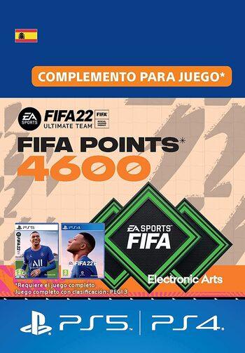 FIFA 22 - 4600 FUT Points (PS4/PS5) Código de PSN SPAIN