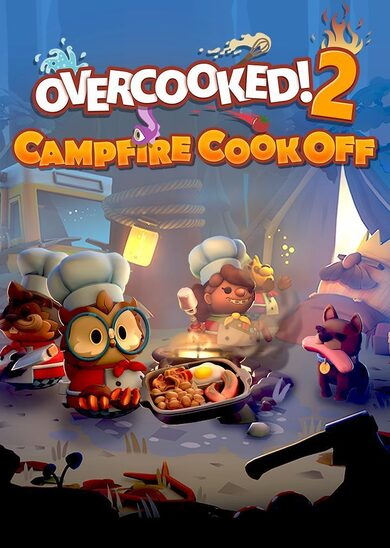 Overcooked! 2 - Campfire Cook Off (DLC) Steam Key GLOBAL фото