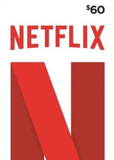 Netflix Gift Card 60 USD Key UNITED STATES
