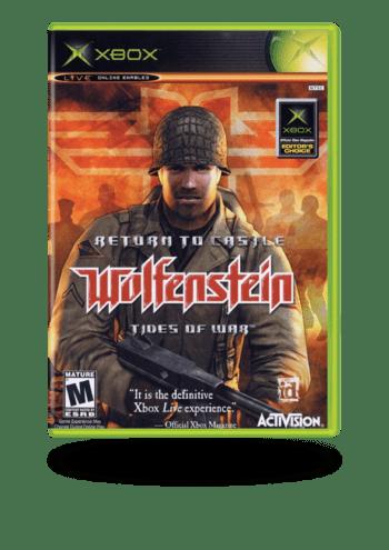 Return To The Castle Wolfenstein Tides of War Xbox