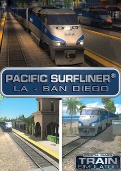 Train Simulator - Pacific Surfliner LA - San Diego Route (DLC) Steam Key EUROPE