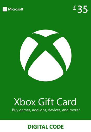 Xbox Live Gift Card 35 GBP Xbox Live Key UNITED KINGDOM